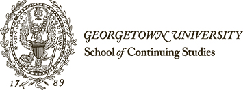 Georgetown School of Continuing Studies (SCS) Corporate Logo
